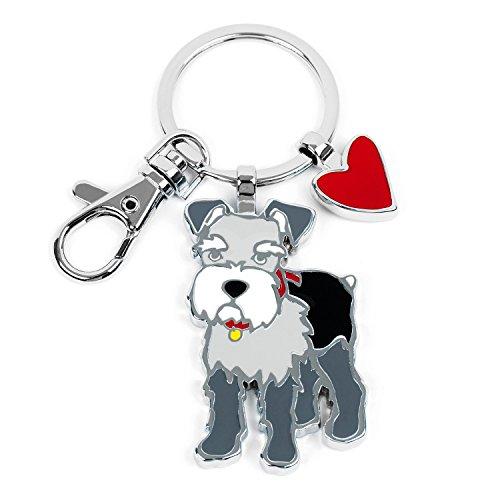 Marc Tetro Dog Keyrings (Schnauzer)