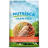 Dogswell Nutrisca Chicken and Chickpea Recipe Dry Dog Food 4lb