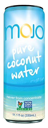 MOJO Pure Coconut Water (Pack of 12)