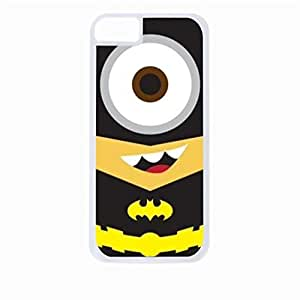 Zheng caseBatminion- Hard White Plastic Snap - On Case-Apple Iphone 6 Plus Only - Great Quality!