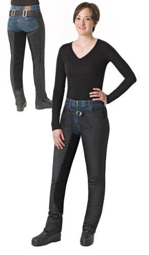 Ovation Blizzard Fleece Lined Full Chaps - Size:Mediun Color:Black