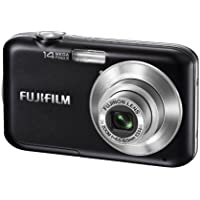 Fujifilm FinePix JV200 14 MP Digital Camera with Fujinon 3x Optical Zoom Lens (Black) At A Glance Review Image