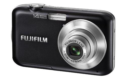 Fujifilm FinePix JV200 14 MP Digital Camera with Fujinon 3x Optical Zoom Lens (Black)