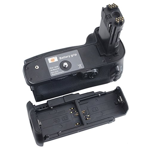 DSTE Pro BG-E20 Vertical Battery Grip for Canon EOS 5D Mark IV 5D4 Camera as LP-E6 LP-E6N