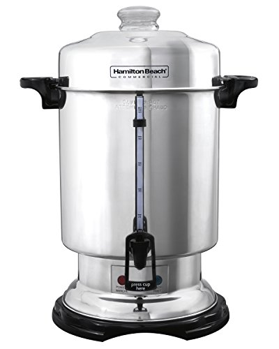 (Hamilton Beach D50065 Commercial 60-Cup Stainless-Steel Coffee Urn, Silver)