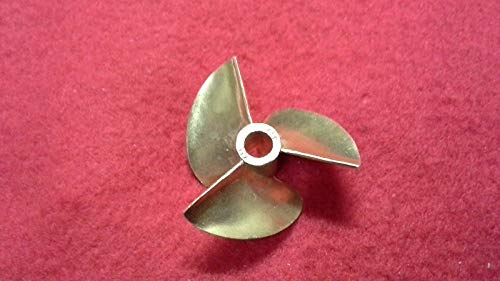 Brass Propeller 3 Blade - FidgetKute 3 Blade Brass Propeller Prop 434 for 3/16