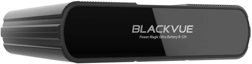 BlackVue B-124E Power Magic Ultra Battery Expansion Vehicle Battery Discharge Prevention, Black