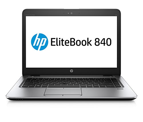 "HP EliteBook 840 G4 1GE40UT#ABA Laptop (Windows 10 Pro, Intel Core i5 7200U, 14"" LCD Screen, Storage: 256 GB, RAM: 8 GB) Grey"