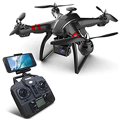 Drone Eye FPV Drone with 1080p HD Camera Live Video and Double GPS Return Home, RC Quadcopter for Adults Beginners with Brushless Motor,-Follow Me, 5G WiFi Transmission, Long Control Range from shantoushixiaowangguoshangmaoyouxiangongsi