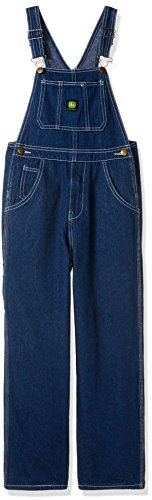 - John Deere Boys' Big Denim Overall Bib, 10