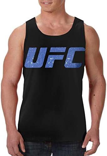 Ufc 格闘 ランニング ジョギング 男性の筋肉タンク 通気性 速乾