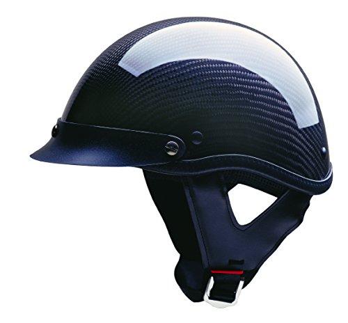 HCI HCI 100 Half Helmet (Carbon Fiber, (Carbon Half Helmet)