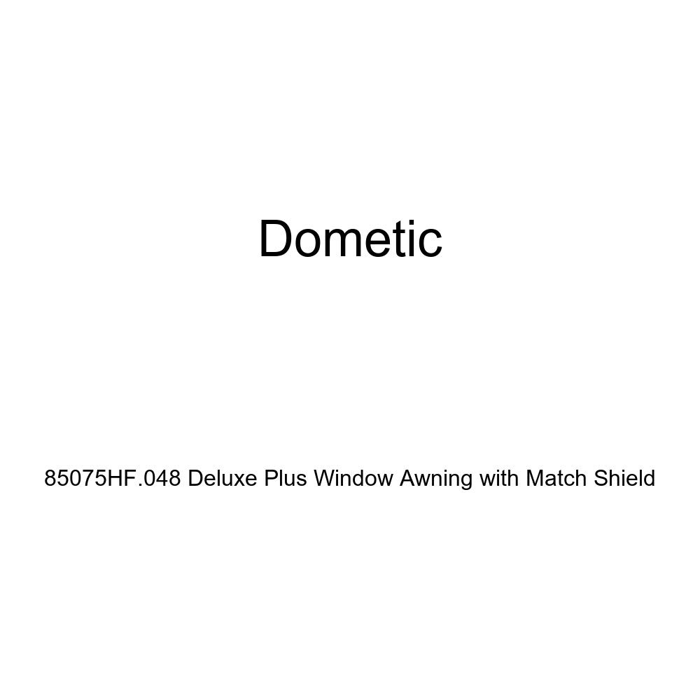 Dometic 85075HF.048 Deluxe Plus Window Awning with Match Shield