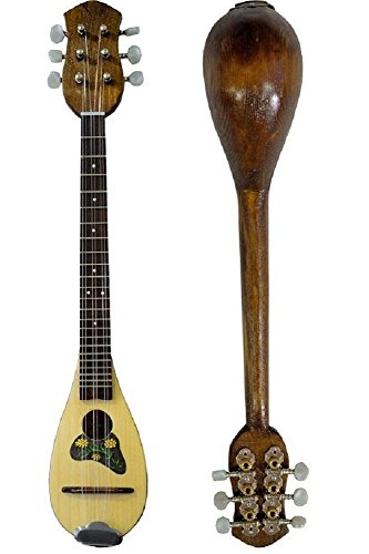 Baglama Baglamas Greek Traditional Music Instrument Handmade Small Bouzouki M0063 by Handmade