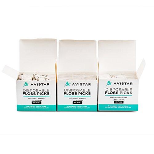 Disposable Floss Picks - 3 boxes