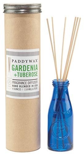 Floral Relish - Paddywax Relish Collection Reed Oil Diffuser Set, Gardenia & Tuberose