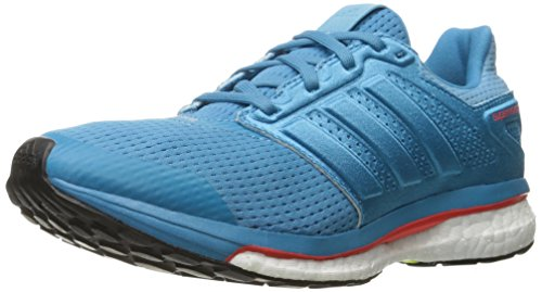 adidas Women's Supernova Glide 8 W Running Shoe, Craft F16/Craft F16/Vapor Blue F16, 7 M US