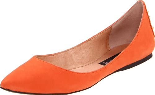 42bc3051842 STEVEN by Steve Madden Women's ETERNNAL, Orange Nubuck 7.5 M US ...