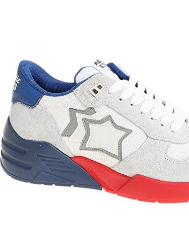 Atlantic Stars Men's MARSBBSN02 White Leather Sneakers DGRls