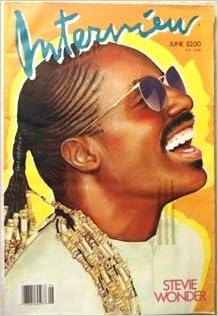 rare 1986 andy warhol s interview magazine stevie wonder vol xvi no6