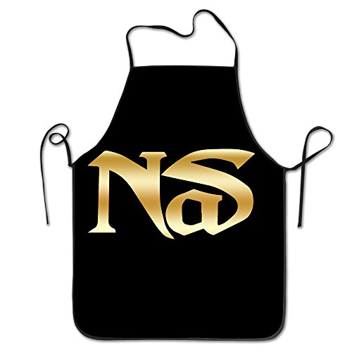 NAS Hip Hop And Rap Band Gold Logo Kitchen Cooking - Jumper Foxy