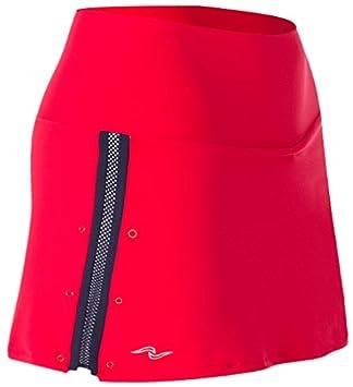 Naffta Tenis Padel - Falda-Short para Mujer, Color Rojo/Marino, Talla XS: Amazon.es: Deportes y aire libre
