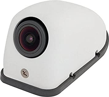 Voyager VCMS12RWTR Model VCMS12 Waterproof Color CMOS Camera, Rubber Lens Cover, Right Side, Normal and Mirror Image Orientation, White Housing