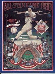 1980 MLB All Star Game Program (Los Angeles)