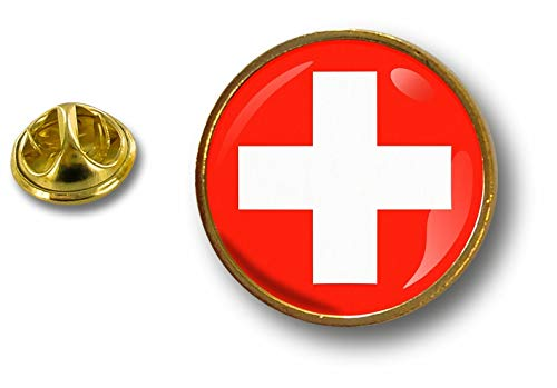 Akacha pins pin Badge pin's Metal Button Drapeau cocarde air Force Militaire Suisse P E3 013 cocarde suisse