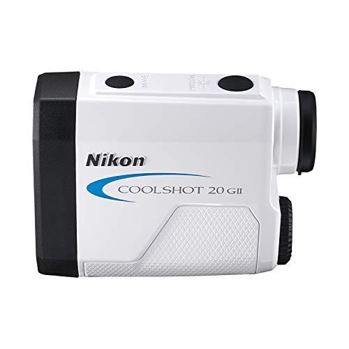 Nikon Coolshot 20 GII Golf Laser Rangefinder, With Extra Case Kit (Best Rated Golf Laser Rangefinder)