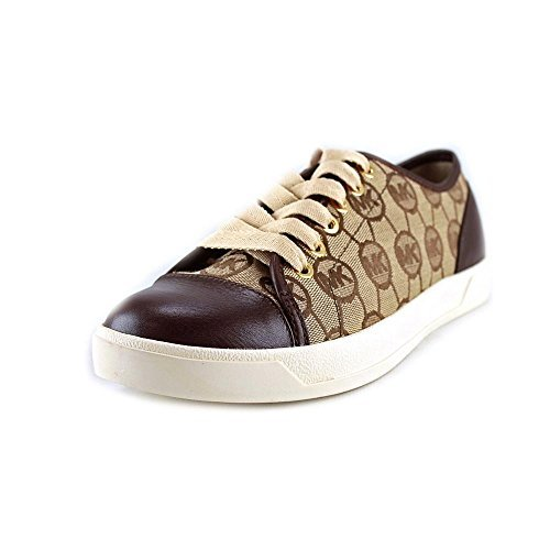 MICHAEL Michael Kors MK City Sneaker AUTHENTIC walking womens shoes (7.5 B(M) US, Mocha)