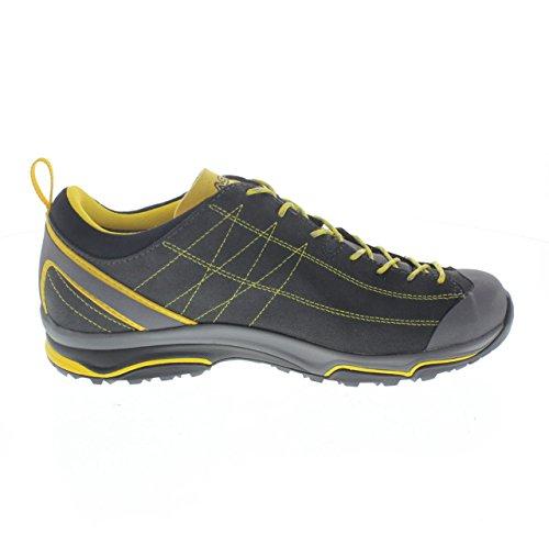 Asolo Nucleon Gv mm Zapatos, Hombre negro (grafite / giallo)