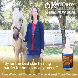 KeriCure Champion Seal - Champion Shield Silver Liquid Bandage Combo Pack; Spray on Liquid Bandage; 4oz Spray Wound Care for Horses and Large Animals by KeriCure (Image #3)