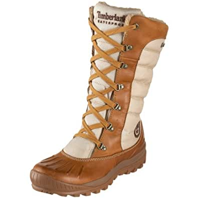 Timberland Women's 21646 Earthkeepers Mount Holly Tall Lace Duck Boot,Wheat/Oatmeal,9.5 M US