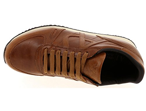 Emporio Armani ,  Sneaker uomo cognac