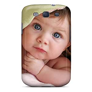 Marthaeges Snap On Hard Case Cover Cute Baby Protector For Galaxy S3