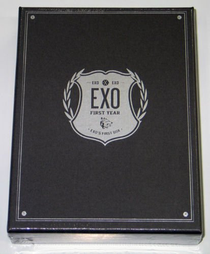 Exo   Exo S First Box Dvd  4Discs Earphone Winder    Extra Gift Photocards Set
