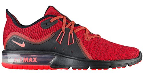 Pied Sequent Pour Max Chaussures University Crimson Nike Air Red Hommes 3 De Noir Total Course CwpBxYqt