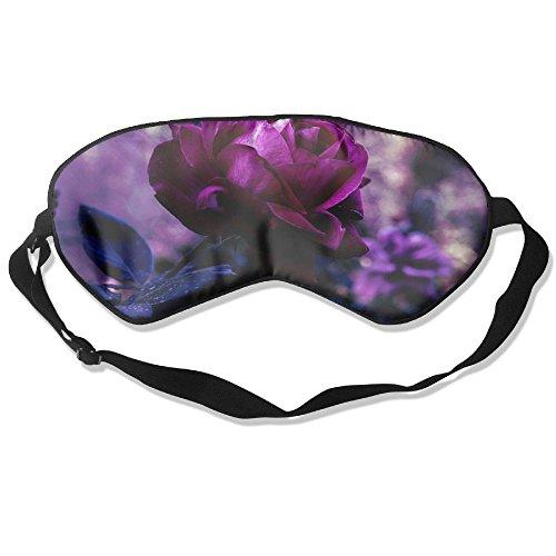 Eye Mask Eyeshade Rose Picture Sleep Mask Blindfold Eyepatch Adjustable Head Strap