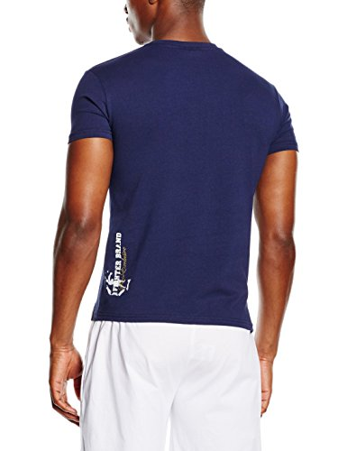 Drapeau Boxeur Logo Exclusive T Série Marine Assorti shirt Bleu Rues Des Modèle Français 0qYwr0