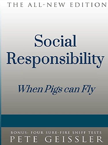 Amazon social responsibility when pigs fly bigshots bull social responsibility when pigs fly bigshots bull by geissler pete fandeluxe Choice Image