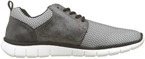 B8740 asphalt Basses grau Gris Homme Rieker weiss Sneakers 40xdREqw