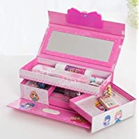 Funny Teddy Password Protected Jewelry/Makeup Box | Vanity case for Girls | Kids Toy Gift (Assorted Design and Color)