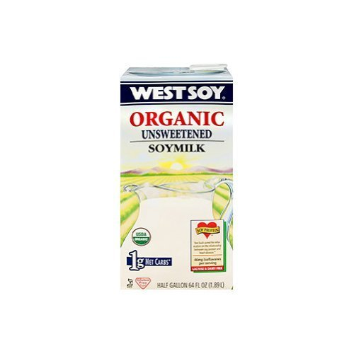WESTSOY SOYMILK UNSWT ORGNL, 64 FO by West Soy