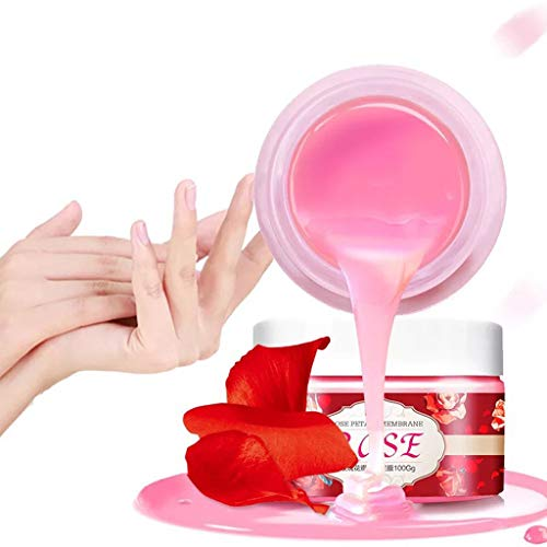 Nail Care Nail Paraffin SPA Treatment Self Nail Care for Strong Rose Hand Wax (Multicolor)