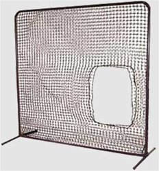 Cimarron Residential Softball Screen (Net and Frame, 7x7) by Cimarron Sports