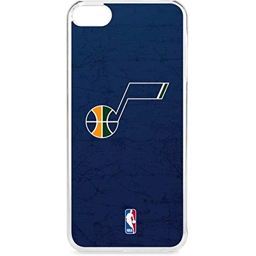Skinit NBA Utah Jazz iPod Touch 6th Gen LeNu Case - Utah Jazz Blue Texture Design - Premium Vinyl Decal Phone Cover by Skinit