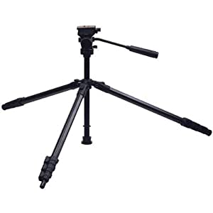 how to put a camera on a targus tripod