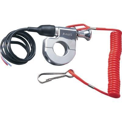 Pingel Tether Kill Switch for 7/8in. Handlebars 640 (Gloves Switch Mx)