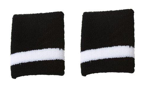 Gravity Wristband Sweatband - Black White